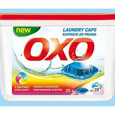картинка Гелевые капсулы OXO Laundry Caps 20 шт color от магазина Аптека24